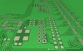 Pcb, The Printed-circuit-board (3D).