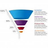 picture of conversation  - Get this Conversion Funnel to present your business data or marketing strategies - JPG