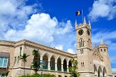picture of minister  - The parliament of Bridgetown - JPG