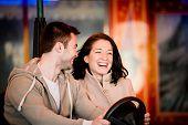 pic of car ride  - Vienna - JPG