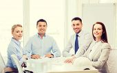 stock photo of real-estate-team  - business - JPG