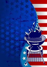 pic of labor  - Labor Day barbeque background with place for your text - JPG