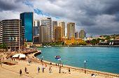 Sydney Harbor and city skyline, Australia