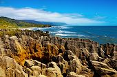 Punakaiki Pancake Rocks, West Coast, New Zealand