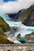 Franz Josef glacier, Alpes do Sul, Nova Zelândia