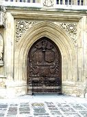 The Beautiful Entrance To Bath Abbey