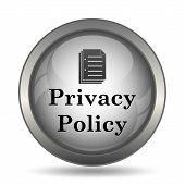 Постер, плакат: Privacy Policy Icon