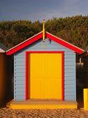 Bathing Box at Brighton Beach