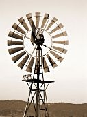 Antigo moinho de vento