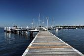 Anlegestelle in Port Stephens
