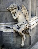 Sleeping Angel at La Recoleta Cemetery in Buenos Aires