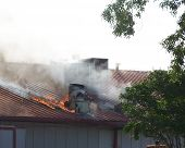 Roof Fire