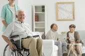 Retirement Home With Elder Man poster