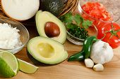 Guacamole Ingredients