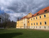 Cisterian's castle in Rudy