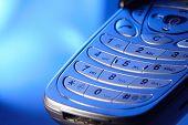 teclado del teléfono celular