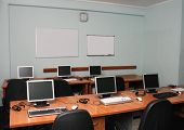 foto of business-office  - Office or training center interior - JPG