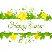 picture of happy easter  - Happy Easter Background - JPG