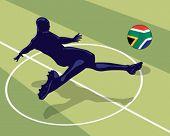 Soccer player.