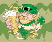 Impressão ideal de St Patrick.
