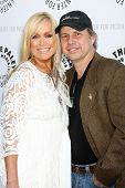 LOS ANGELES - JUN 7:  Catherine Hickland, Todd Fisher at the Debbie Reynolds Hollywood Memorabilia C