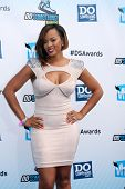 LOS ANGELES - AUG 19:  Malaysia Pargo arrives at the 2012 Do Something Awards at Barker Hanger on Au