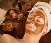 Chocolate Mask Facial Spa. Chocolate Treatments. Beauty Spa Salon