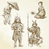 samurai - warrior in Japanese tradition