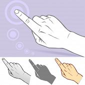 Commonly Used Touch Screen Gesture