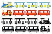 sightseeing trains