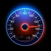 A vector Speedometer illustration design.