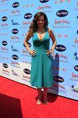 LOS ANGELES - 19 de ago: Maria Canals-Barrera llega a