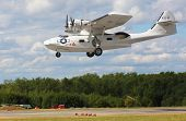 PILSEN, CZECH REPUBLIC - AUGUST 25: Most popular american rescue flying boat during second world war