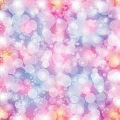 Girly colors bokeh background