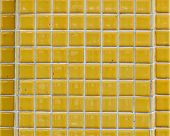 Square Yellow Brick Wall