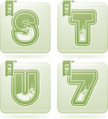 Dígitos & letras maiúsculas