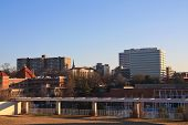 picture of knoxville tennessee  - A view of downtown Knoxville with early morning light - JPG