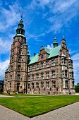 pic of copenhagen  - The famous renaissance epoch castle in Copenhagen - JPG