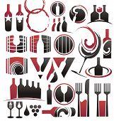 Ícones do vinhos