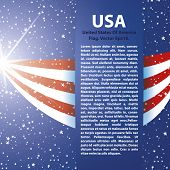 United States of America Flag background USA