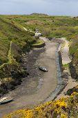 Porthclais port near St Davids Pembrokeshire West Wales