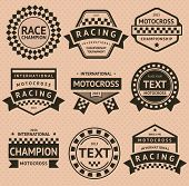 pic of moto-x  - Racing insignia set - JPG