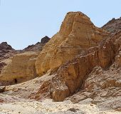 Scenic rocks in the desert, Israel
