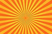 picture of sun rays  - Abstract yellow sun rays vector illustration background - JPG