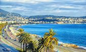 Aerial View Of Nice, Cote D'azur