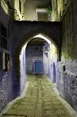 Street In The Medina Of Chefchaouen