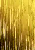 Golden Vertical Lines On Gradient