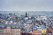 Namur As Seen From The Citadel, Belgium