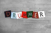 stock photo of timpani  - Drummer - JPG