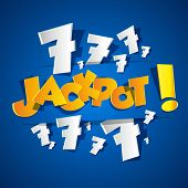 Creative Abstract Jackpot symbol